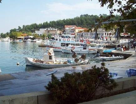 Bir misket adası: Thassos (Taşoz adası)